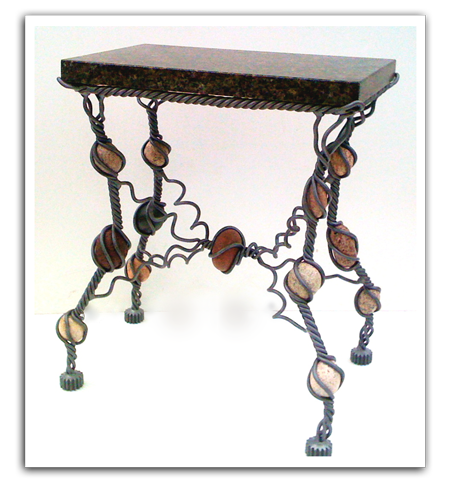 Rock Iron Table